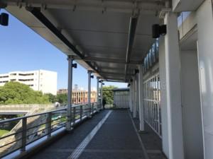 北習志野駅廊下